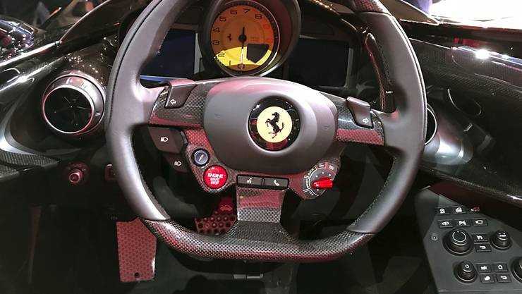 Ausgebremst: Ferrari verkaufte zwar im dritten Quartal mehr Autos, setzte damit aber kaum mehr um als im Vorjahresquartal. (Archiv)