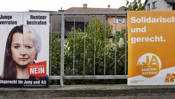 Ob die Gegner oder die Befürworter der AHV-Reform am 24. September als Sieger dastehen werden, ist offener denn je. (Themenbild)