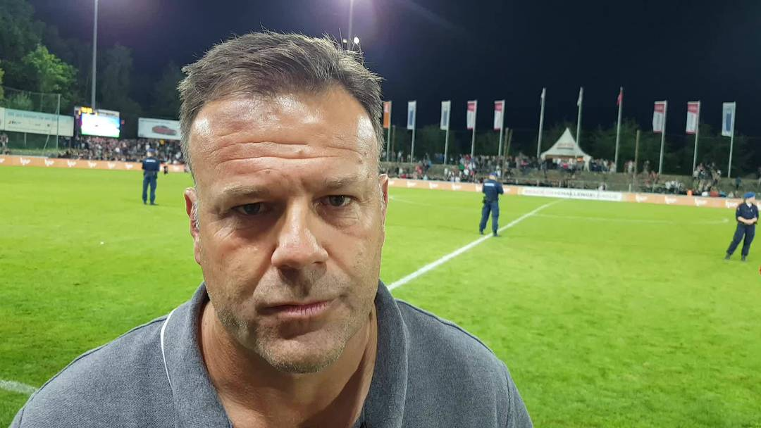Patrick Rahmen im Interview nach Aarau GC