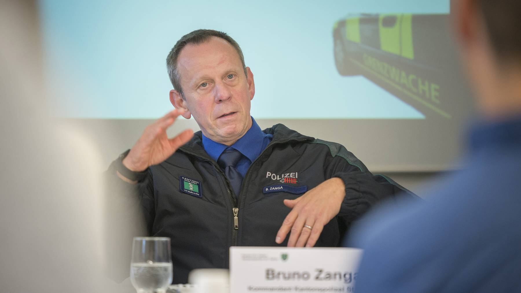 Bruno Zanga, Kommandant Kantonspolizei St.Gallen