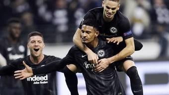 Erfolgsduo weg: Nach Luka Jovic (li.) verlässt auch Sébastien Halle (mitte) Eintracht Frankfurt