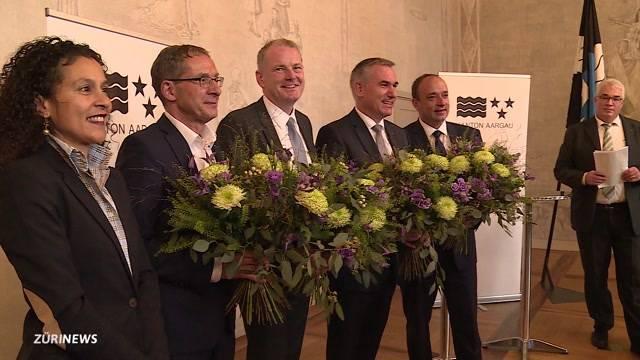 Aargauer Regierungsrat in rechter Hand