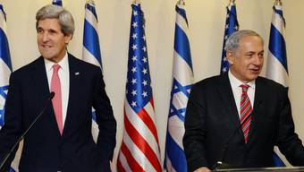 US-Aussenminister Kerry (links) und Israels Premier Netanjahu