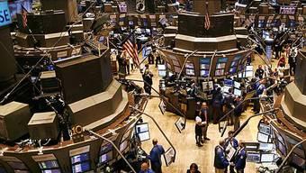 Blick auf den Börse in den USA kurz vor Eröffnung (Archiv)