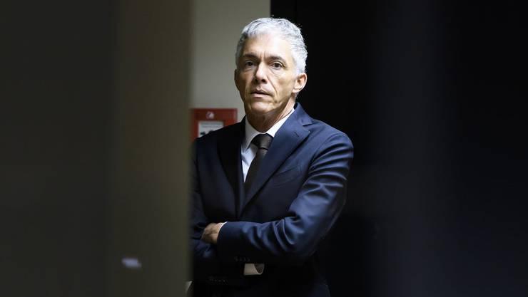 Wegen Geheimtreffen mit Fifa-Chef Gianni Infantino in der Kritik: Bundesanwalt Michael Lauber.
