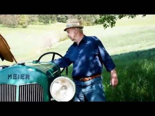 Restaurierter Meier Traktor von 1936