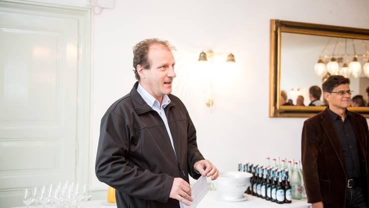 Patrick Schlatter bleibt vorderhand Gemeindepräsident in Oberdorf.