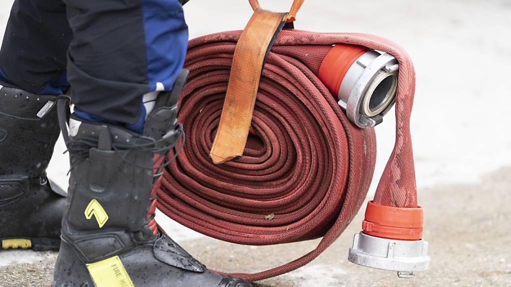 Bei einem Wohnungsbrand in Genf sind am Freitagabend zahlreiche Menschen in Panik geraten. Zwei Personen wurden verletzt, eine Katze überlebte den Brand nicht. (Symbolbild)
