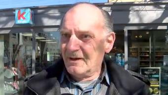 Augenzeuge Rolf Meier beschreibt, wie Schauspieler Beat Schlatter attackiert wurde.