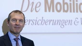 """Mobiliar-Chef Hongler: """"Ziel erreicht"""" (Archiv)"""