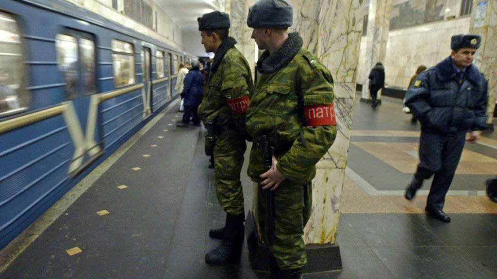 Bei Explosionen in der U-Bahn der russischen Grossstadt St. Petersburg hat es Tote gegeben. (Symbolbild)