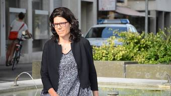Lieblingsplatz: Brugger Stadtammann-Kandidatin Barbara Horlacher (Grüne)