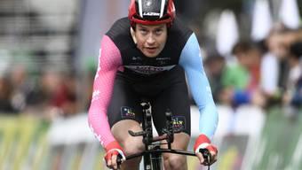 Feierte mit dem Sieg in der 18. Etappe der Vuelta seinen bislang grössten Erfolg: der Belgier Sander Armée (Archivbild)