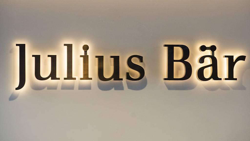 Julius Bär steigert verwaltete Vermögen in ersten zehn Monaten
