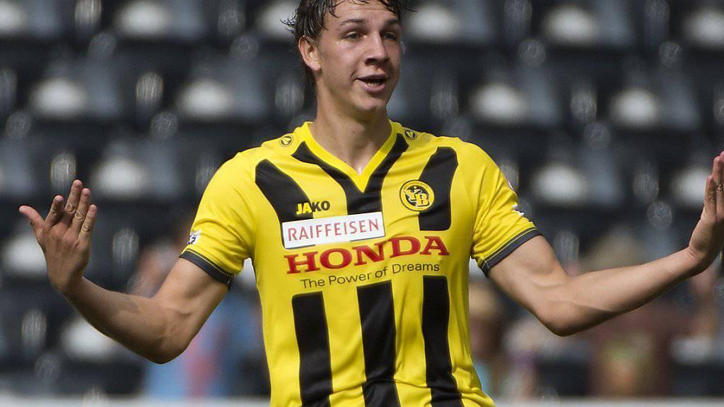 Will künftig wieder für die Young Boys Tore schiessen: der 21-jährige Stürmer Michael Frey