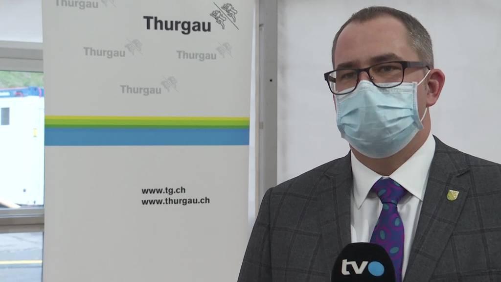 Reaktion: Thurgauer Gesundheitschef zu neuen Massnahmen