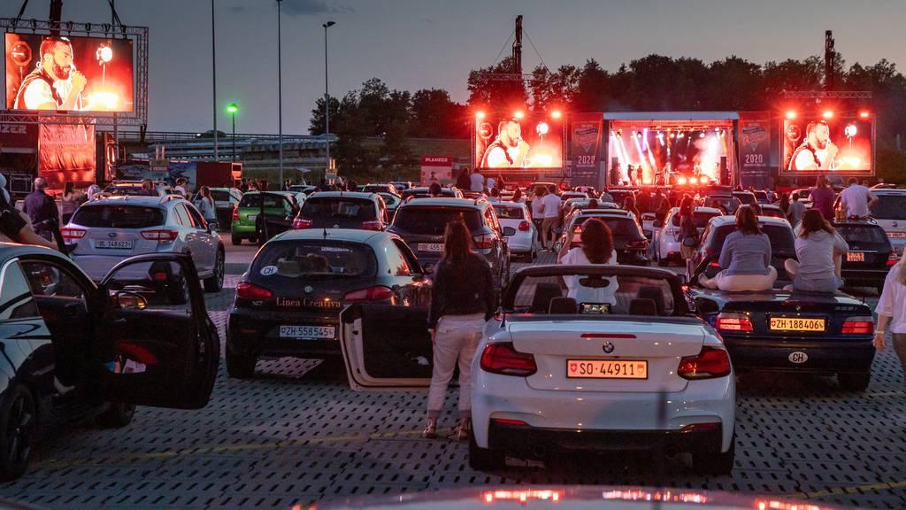 Bliggs und Baschis Antwort auf Corona: Konzerterlebnis im Auto