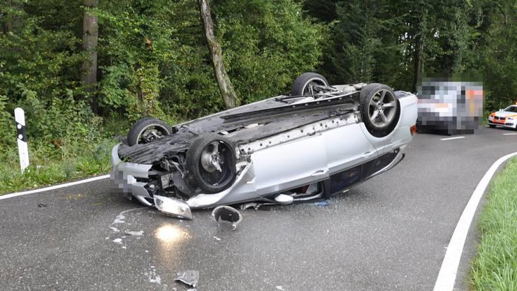 Der Unfall ereignete sich am Freitagmorgen gegen 9.20 Uhr.