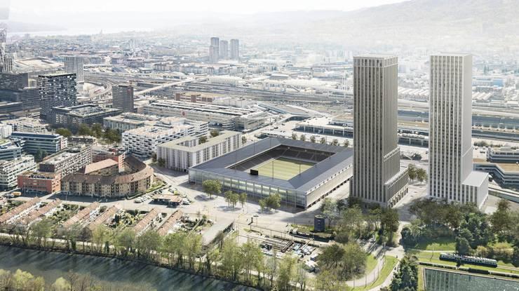 HRS-Mitinhaber und -CEO Martin Kull möchte den neuen Hardturm mit den höchsten Hochhäusern der Stadt Zürich bauen.
