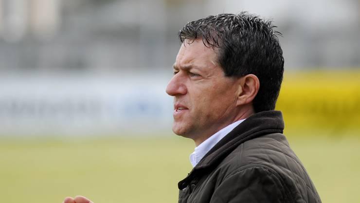 Polarisiert: Roland Hasler, Trainer und Geschäftsleitungsmitglied des FC Solothurn, pocht auf seinen Vertrag. Nach Präsident Robert Beer ist nun auch Yves Derendinger aus dem Vorstand des FC Solothurn zurückgetreten