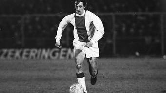 Souverän am Ball: So kannte man Johan Cruyff in der Zeit der grossen Erfolge mit Ajax Amsterdam zu Beginn der Siebzigerjahre