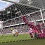 Luzerns Torhüter Marius Müller ist gegen Basel mehrmals machtlos