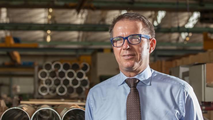 Der 52-jährige Österreicher Gerhard Anger hat im Februar die operative Führung der Alu Menziken Extrusion AG übernommen.