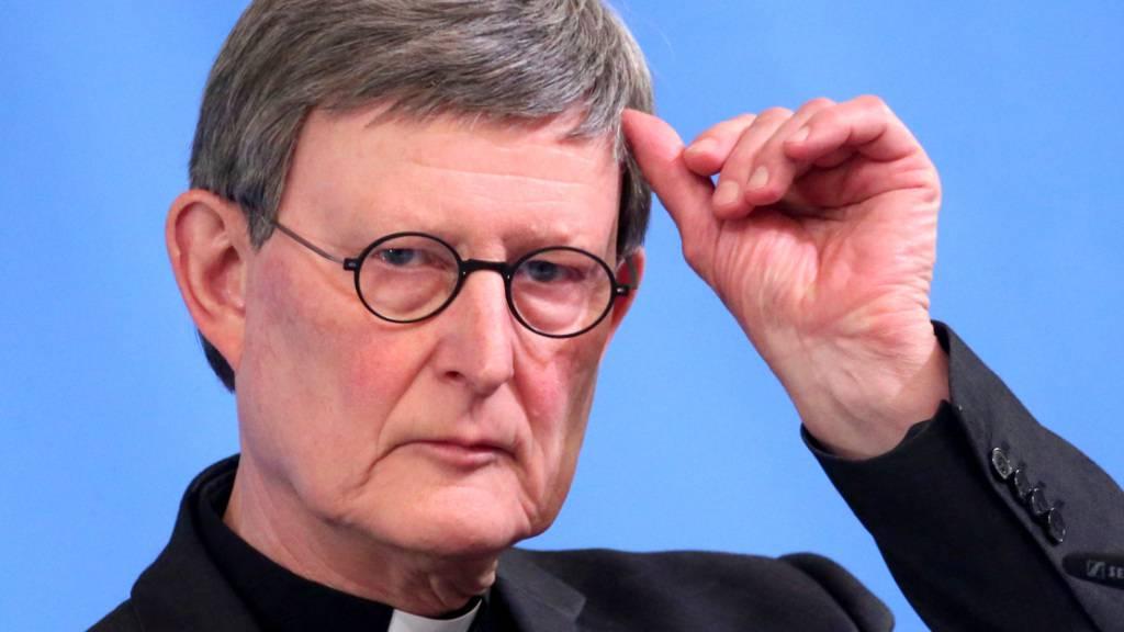 Kardinal Rainer Maria Woelki, Erzbischof von Köln sieht auch Fehler bei sich. Foto: Oliver Berg/dpa-Pool/dpa