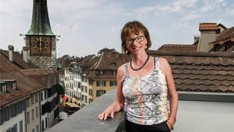 Maya von Gunten plädiert für Sorge zur Dachlandschaft.