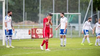 Christian Ianu verpasste das 2:0 für den FC Muri und erlebte danach den Einbruch des Teams mit.