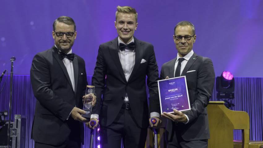 Jasper van der Werff wurde 2018 zum Spieler des Jahres gewählt.