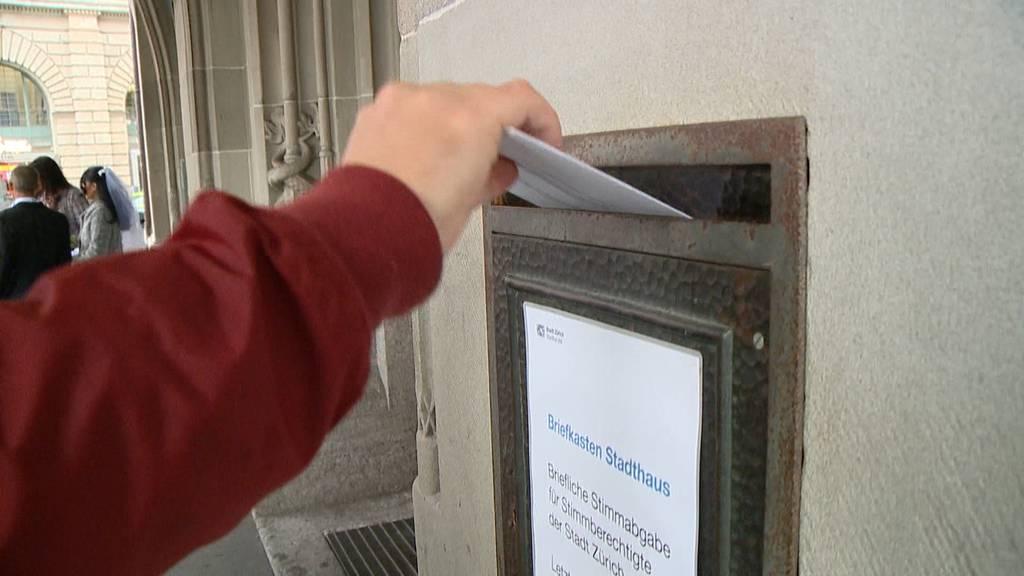 Hohe Stimmbeteiligung in der Stadt Zürich: Könnte es einen Rekord geben?
