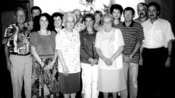 Die Gründungstruppe der Dohlen Dulliken im Jahre 2000.