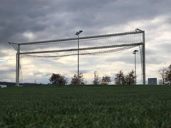 Der Fussballplatz des FC Bellach.