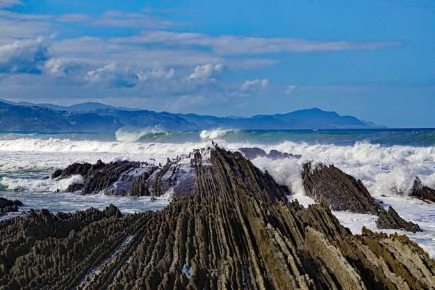 Die Flysch: geologische Wunderwerke. Bild: Getty