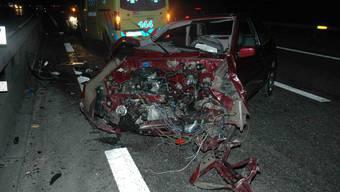 Verkehrsunfall in Wiedlisbach