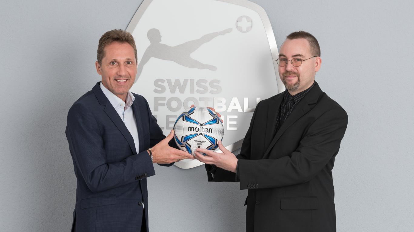 Einheitlicher Ball für Swiss Football League