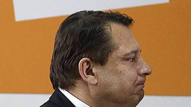 CSSD-Parteichef Jiri Paroubek erreicht Ziel nicht