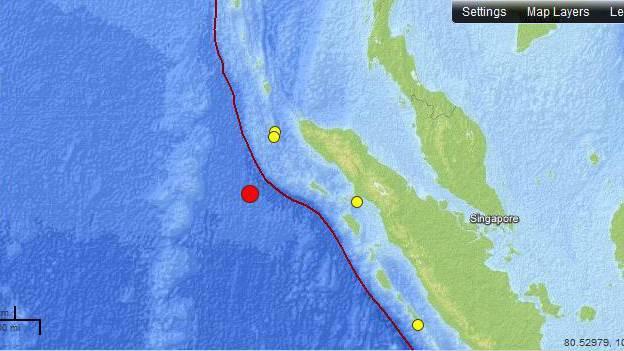 Tsunami-Warnung für indischen Ozean
