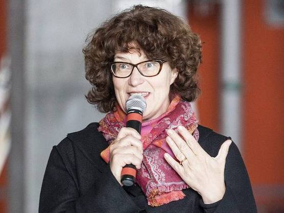 Die Zürcher Stadträtin Ruth Genner im November 2012. (Archivbild)