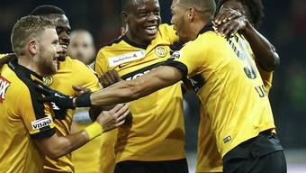 Die Young Boys freuen sich über den Einzug in den Cup-Viertelfinal