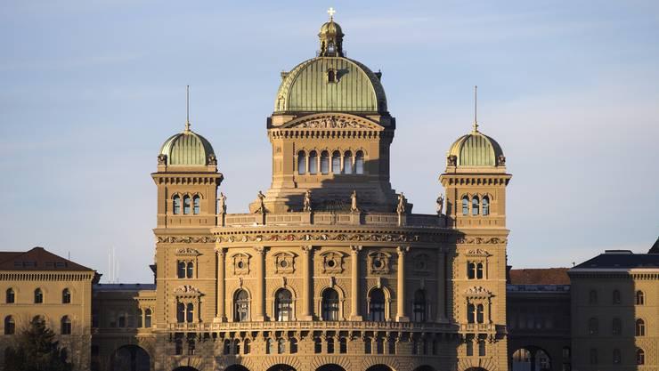 Das Bundeshaus in Bern.
