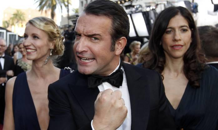 Jean Dujardin wurde bester Hauptdarsteller. Als erster Franzose wurde er mit dem Oscar ausgezeichnet.