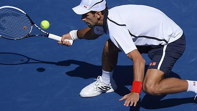 Novak Djokovic hatte gegen Ferrer einen Satzverlust wettzumachen.