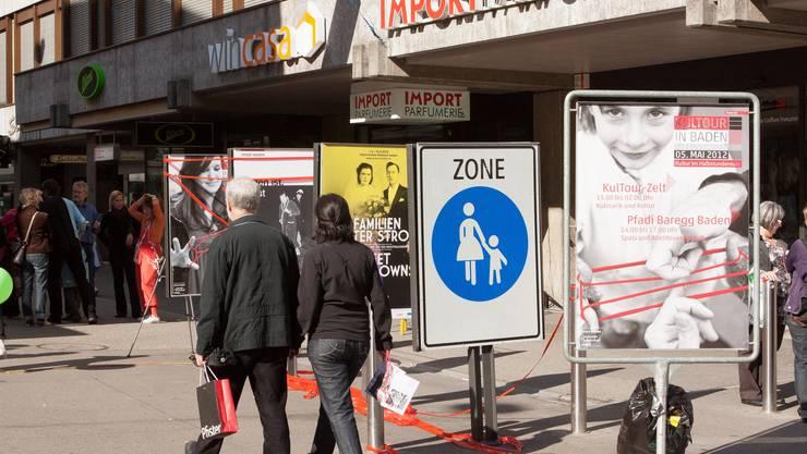 KulTour 2012 in den Strassen von Baden
