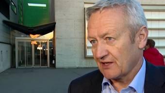 Rudolf Hediger, Gemeindeammann von Rupperswil, überrascht nach dem zweiten Prozesstag mit einer radikalen Aussage.