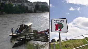 Die «Regio-Kooperationsinitiative» stellt sich gegen eine Fusion beider Basel. (Symbolbild)