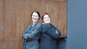 Connie Fauver und Sandra-Anne Göbelbecker haben «frauenaargau» gemeinsam seit 2012 präsidiert, jetzt suchen sie eine Nachfolge. Archiv