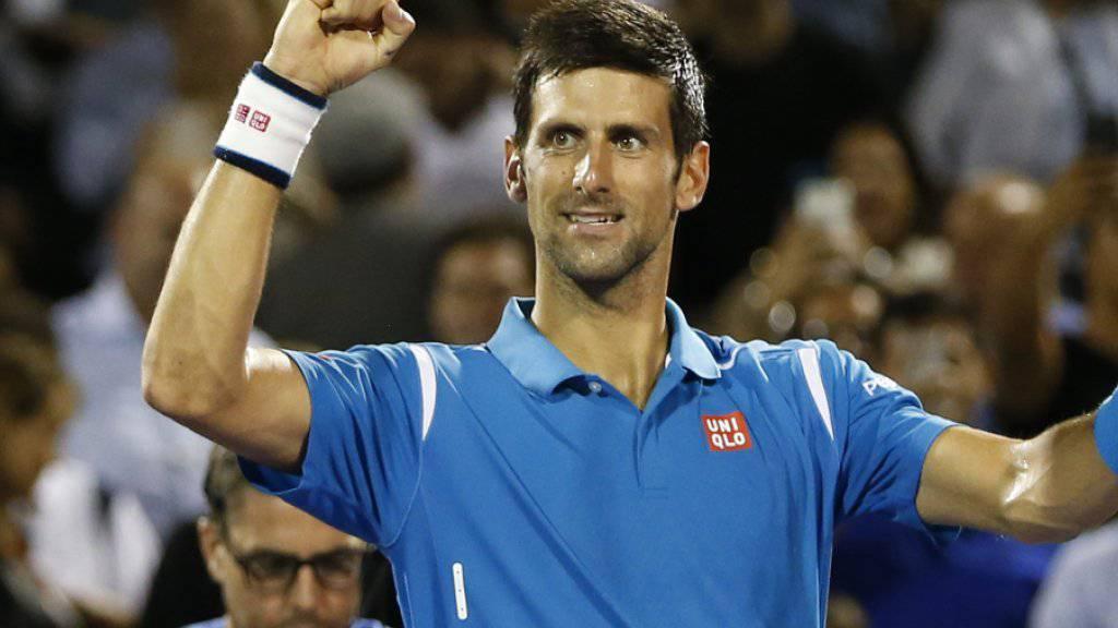 Novak Djokovic egalisiert den Rekord von Andre Agassi und gewinnt das Masters-1000-Turnier in Miami zum sechsten Mal