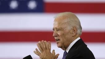 US-Vizepräsident Joe Biden gibt sich optimistisch (Archiv)